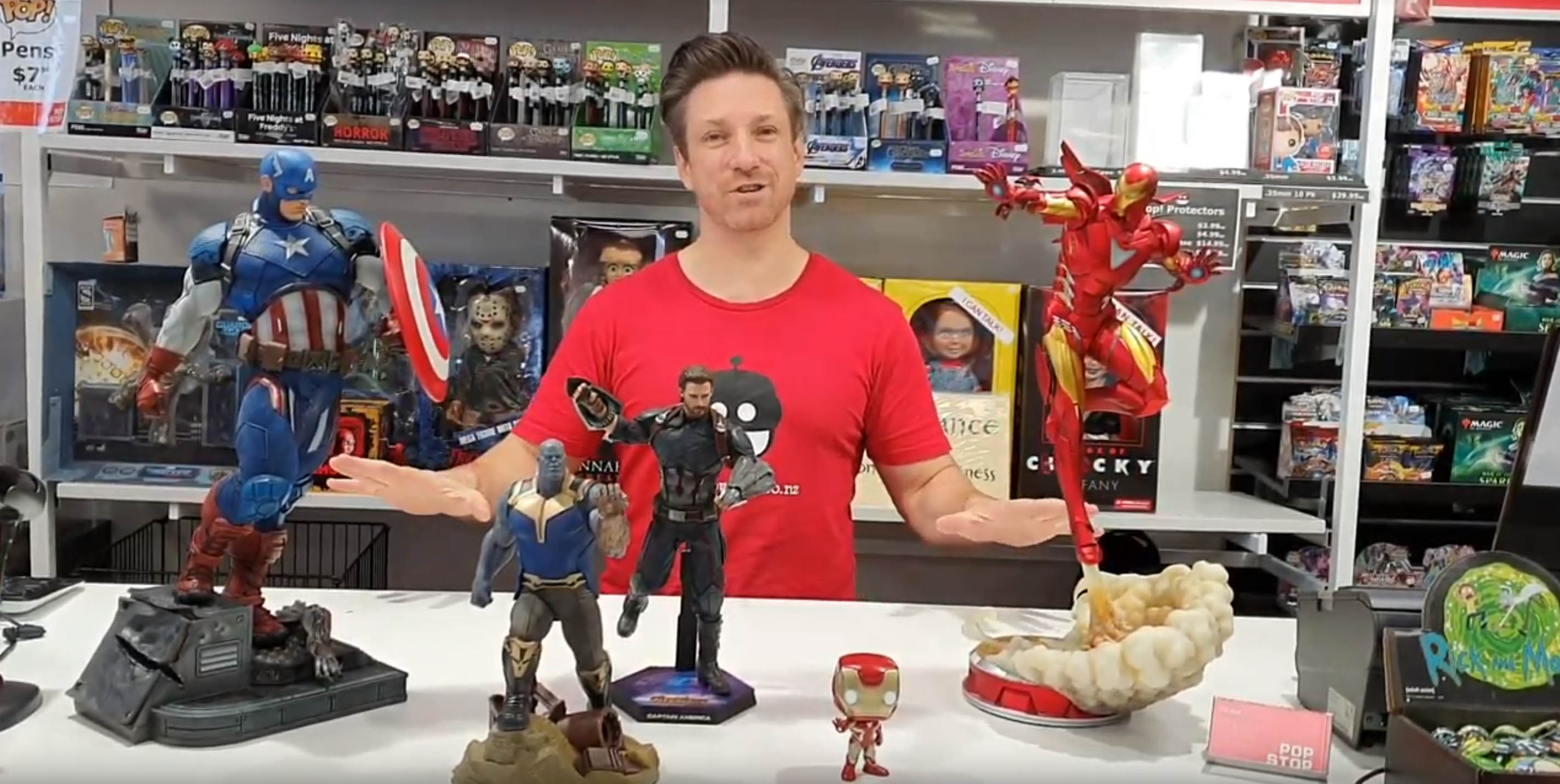 Pop Stop Avengers Collectibles