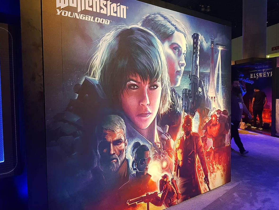 E3 2019 - Wolfenstein Young Blood