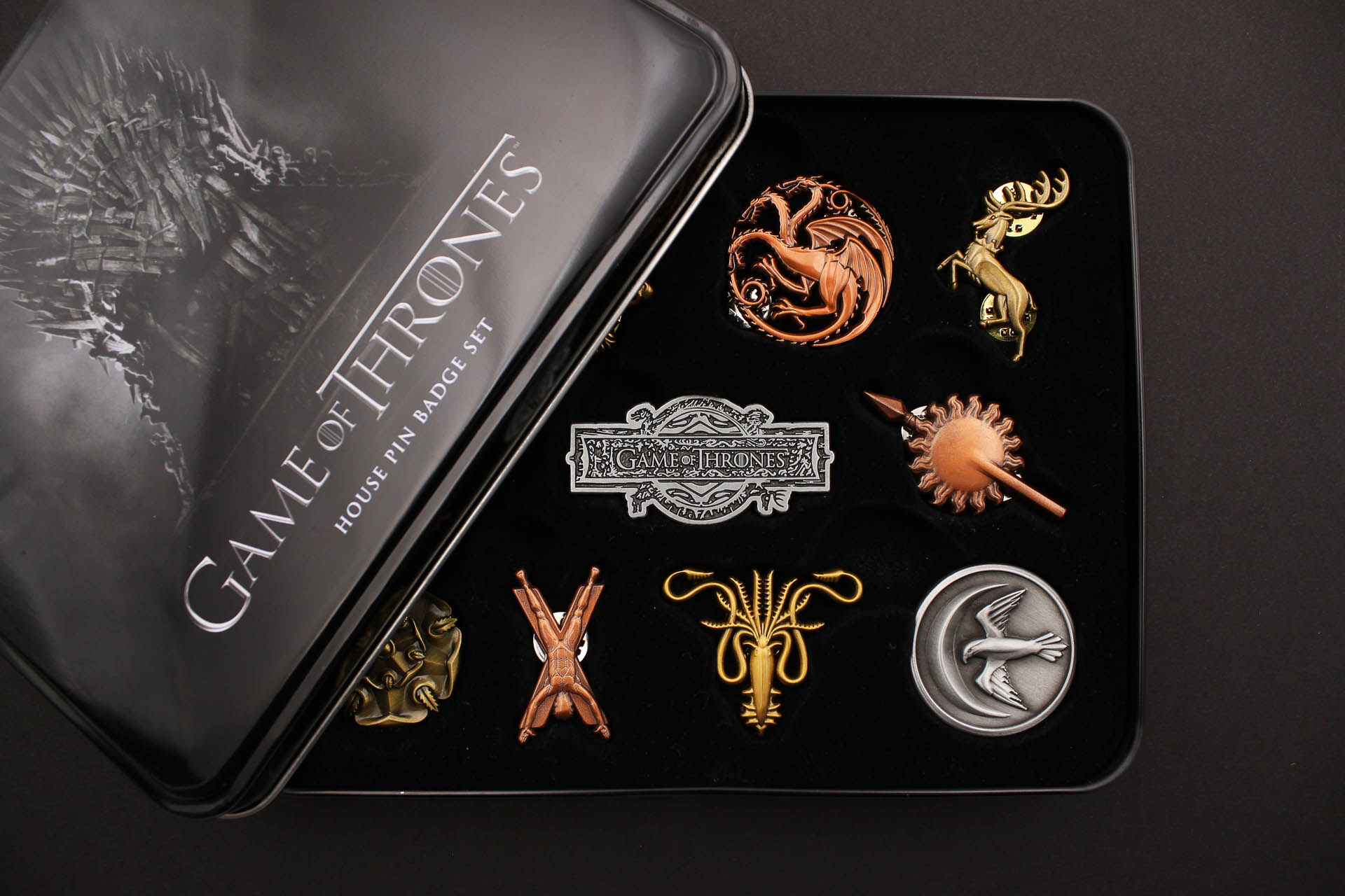 Koyo Store Game of Thrones Pins
