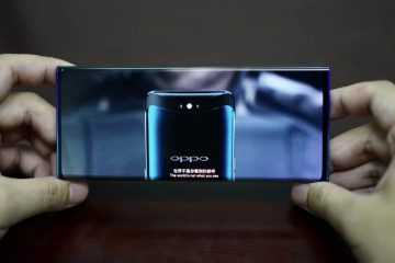 OPPO Waterfall Screen