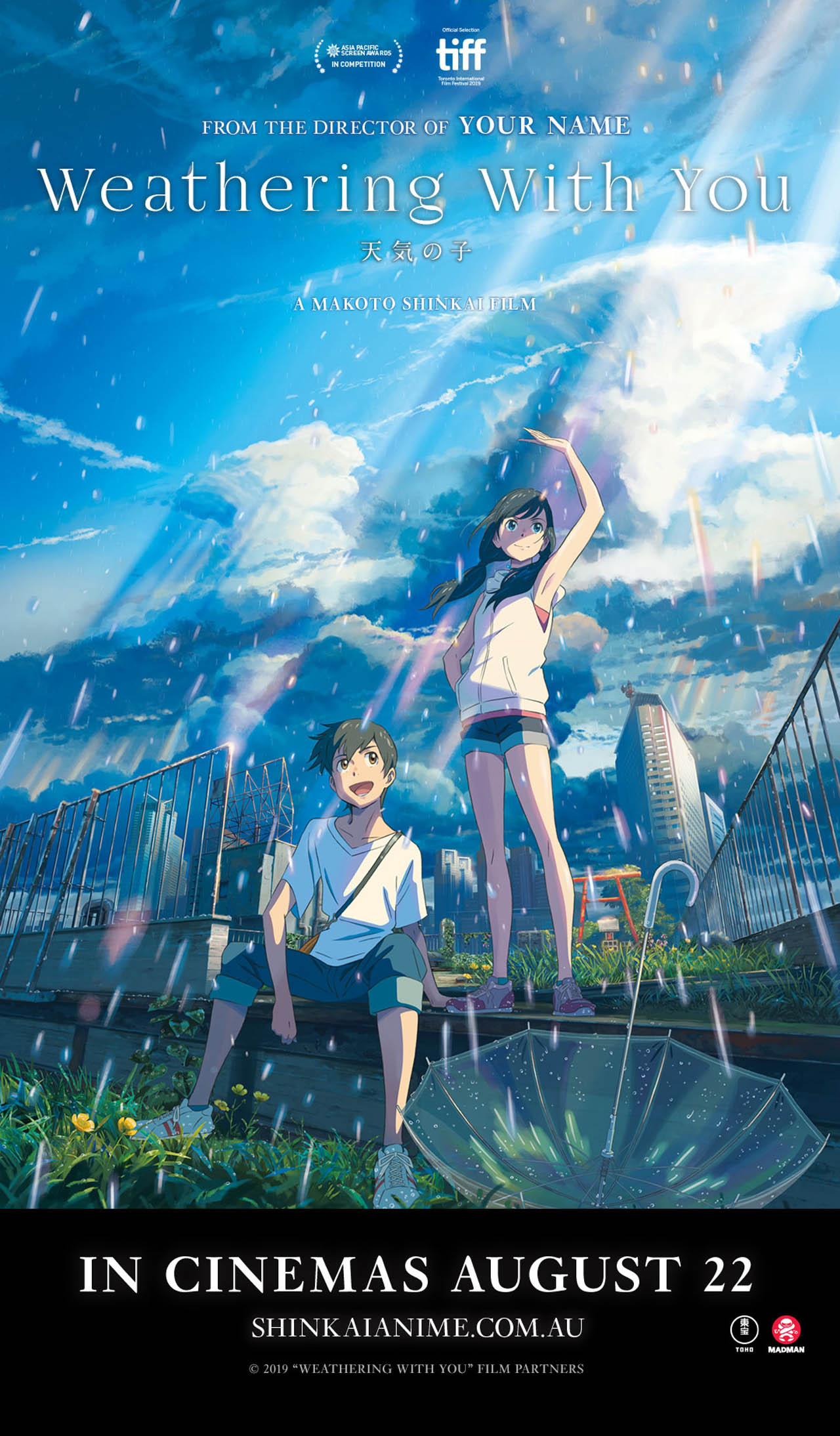 Weather With You - Anime
