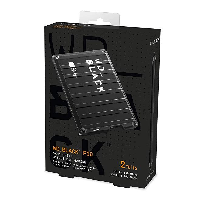 Western Digital Black P10 SSD External Video Gaming Hard Drive