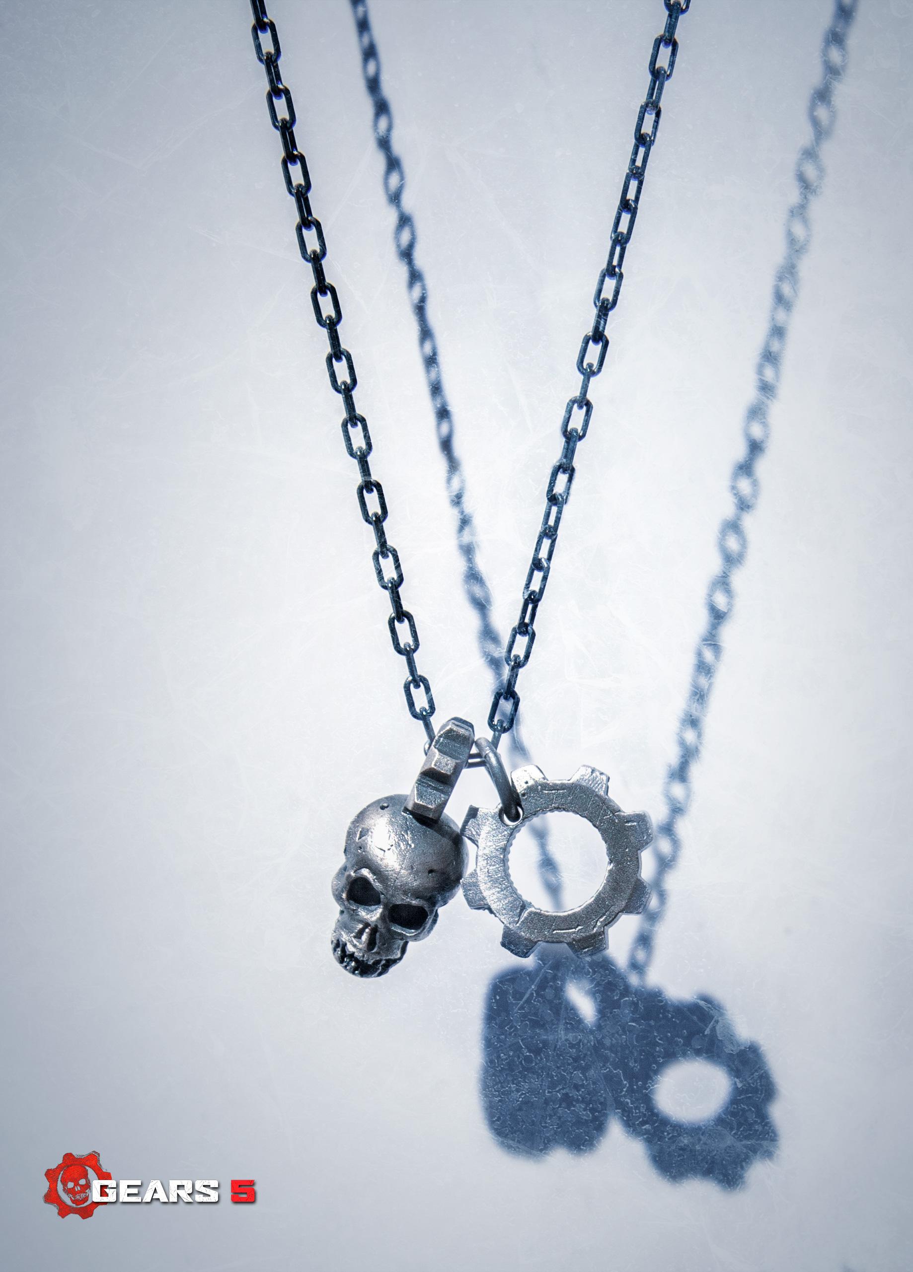 Gears 5 Jewellery - Pendant Necklace