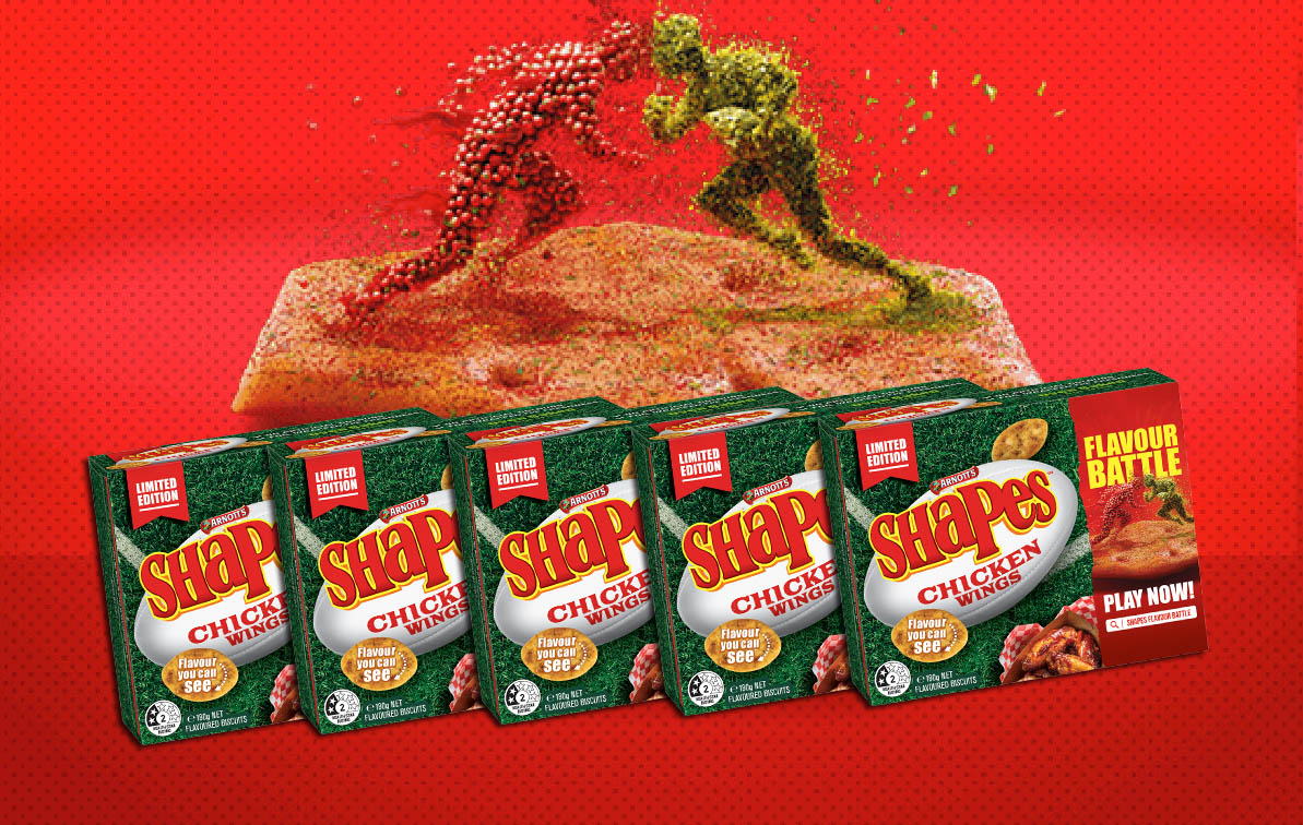 Arnotts shapes Flavour Battle - Chicken Wings