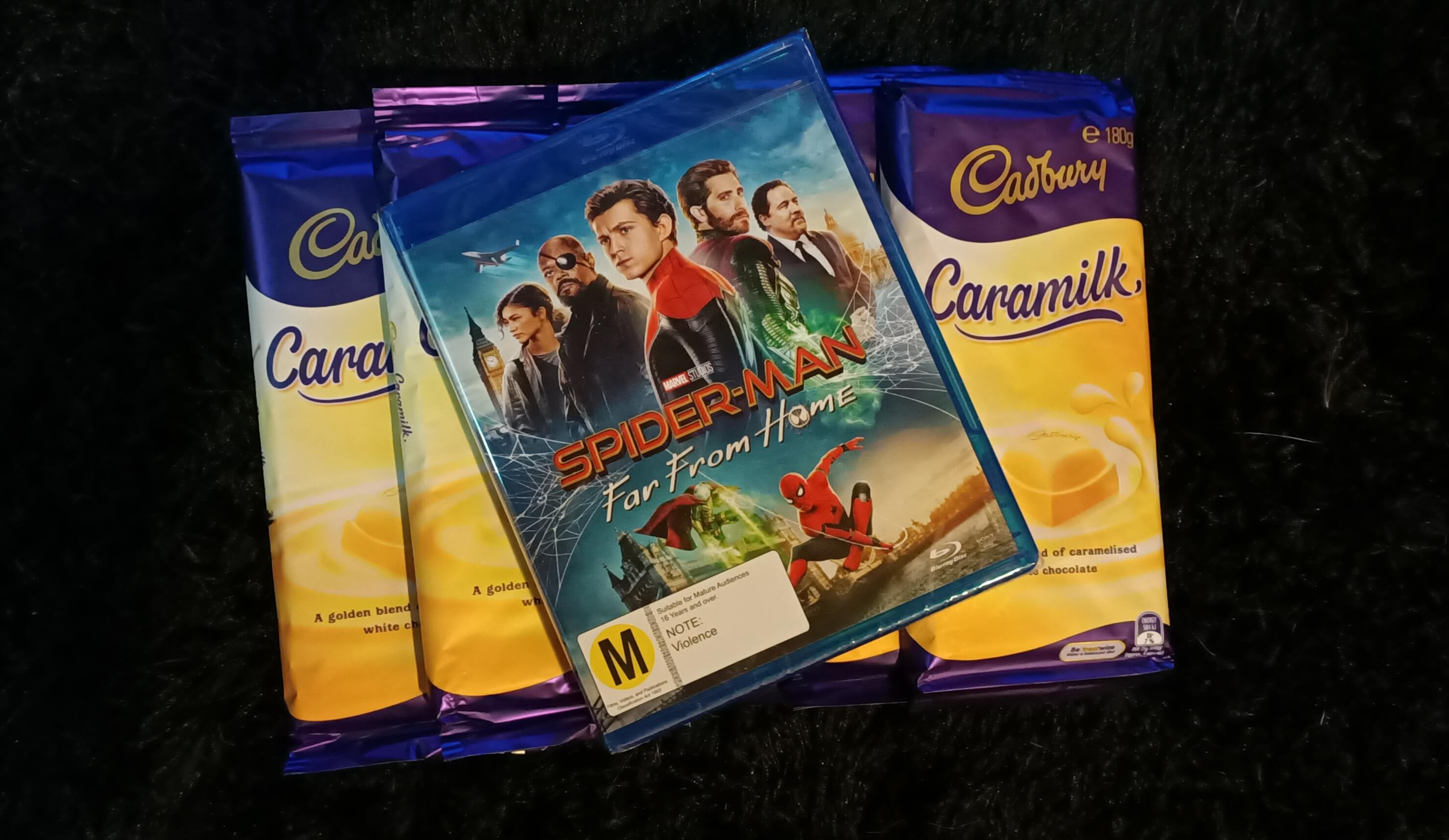 Spider-Man Far From Home & Cadbury Caramilk