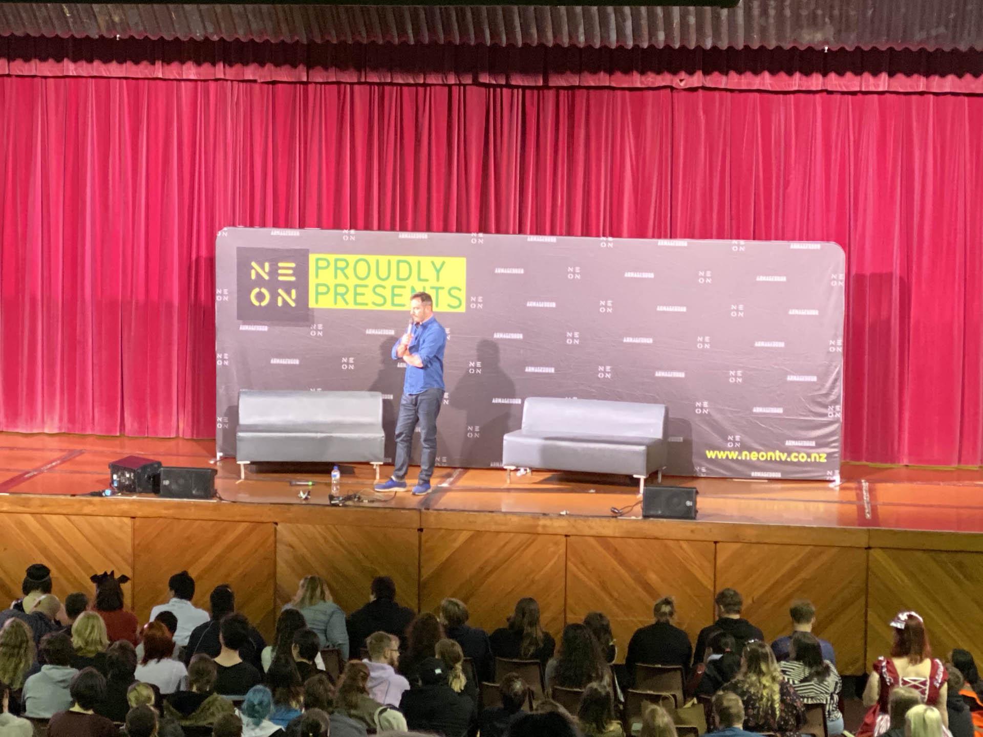 Jason Isaacs talk at Armageddon Expo 2019