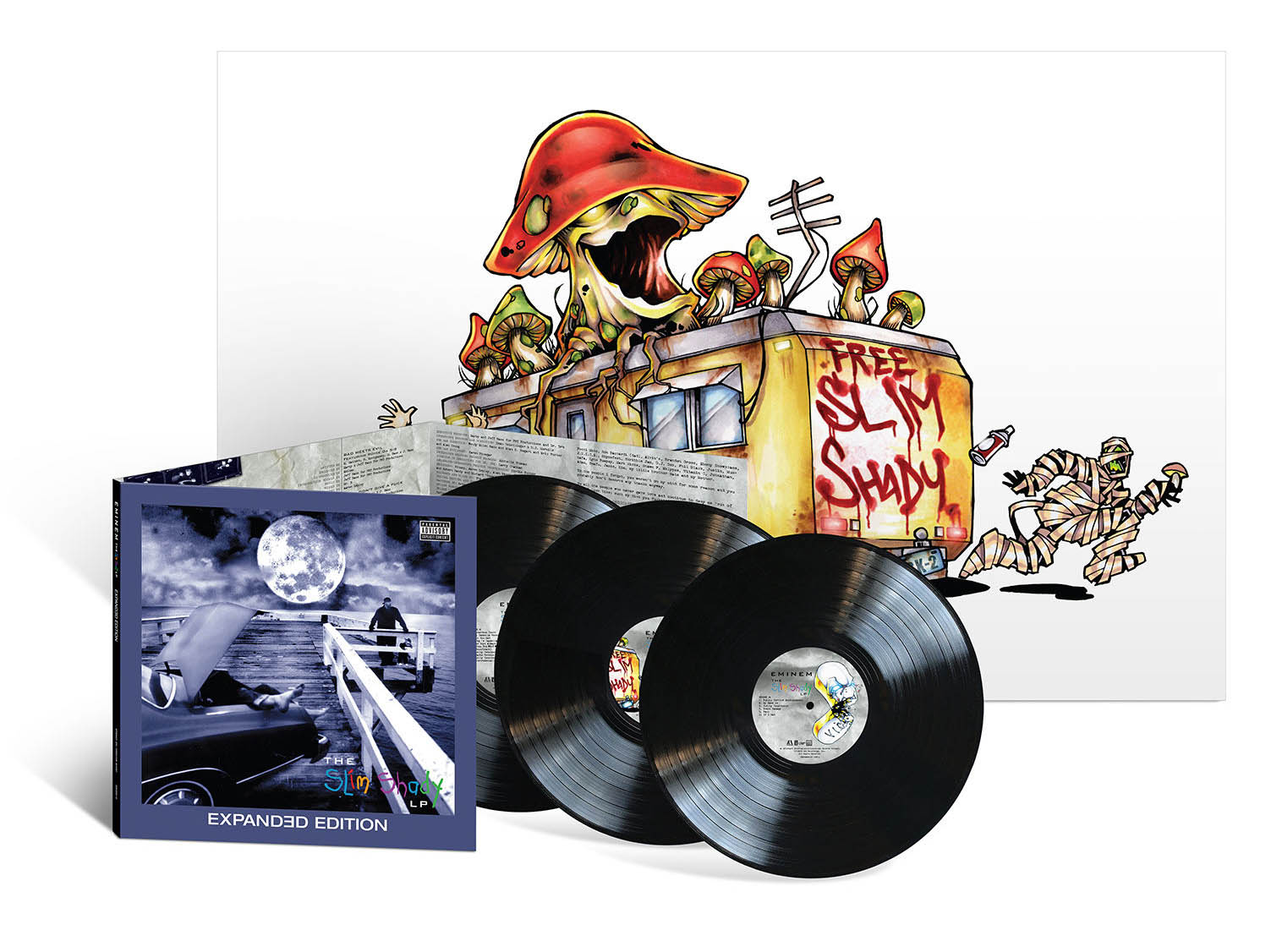 Slim Shady Expanded Edition LP