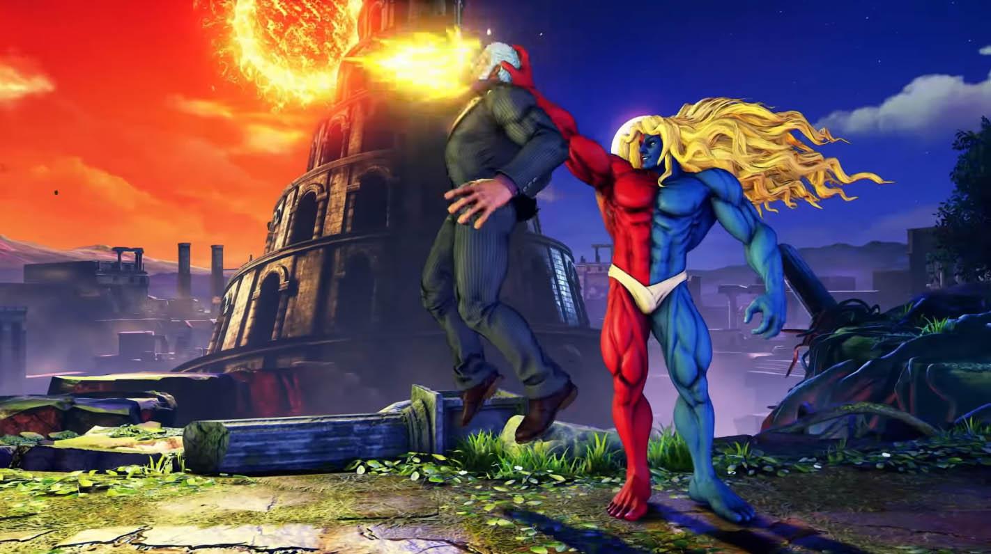 Street Fighter V: Champion Edition - Gill