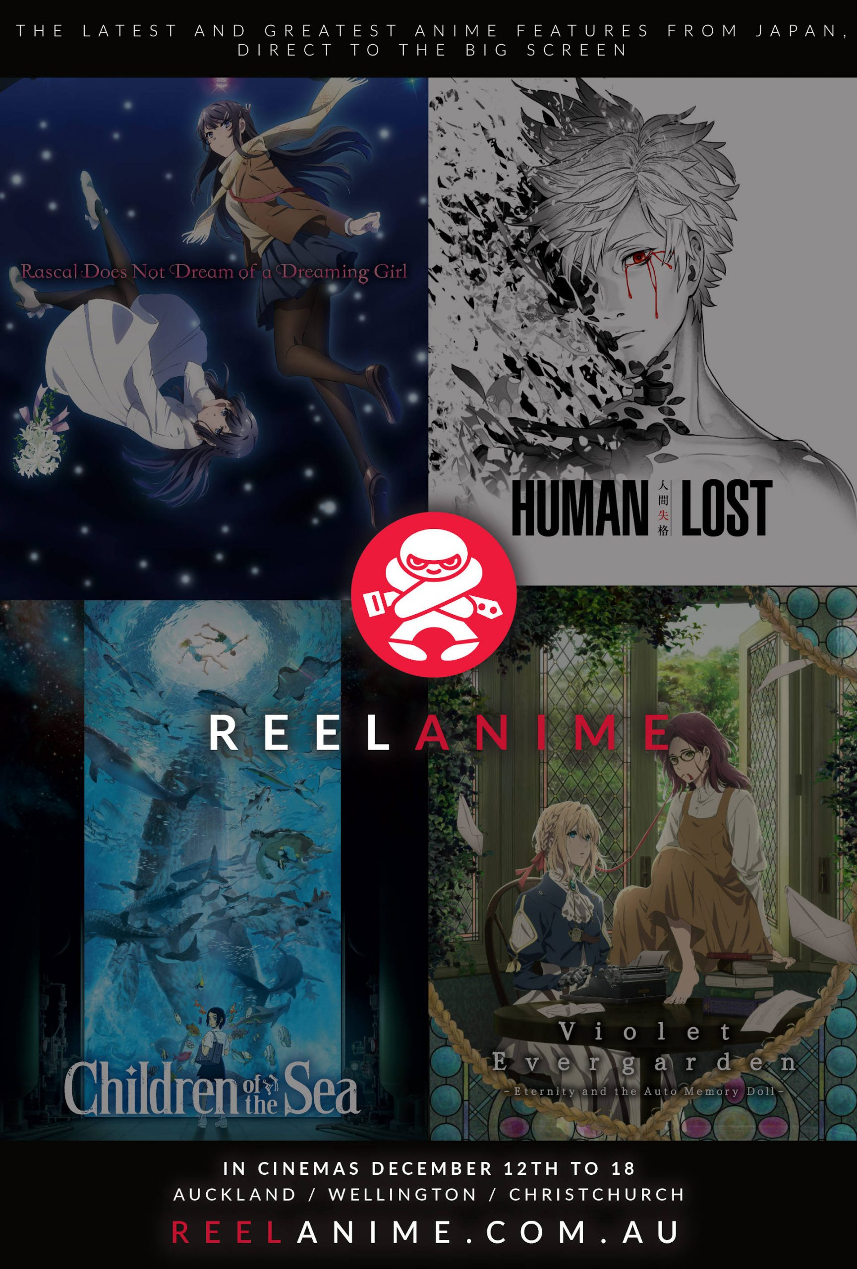 Reel Anime Web Poster