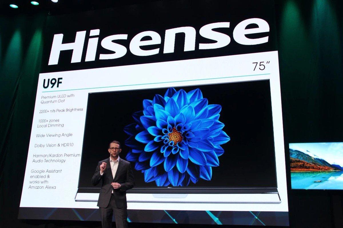 Hisense Trichroma Laser Smart TV - CES 2020