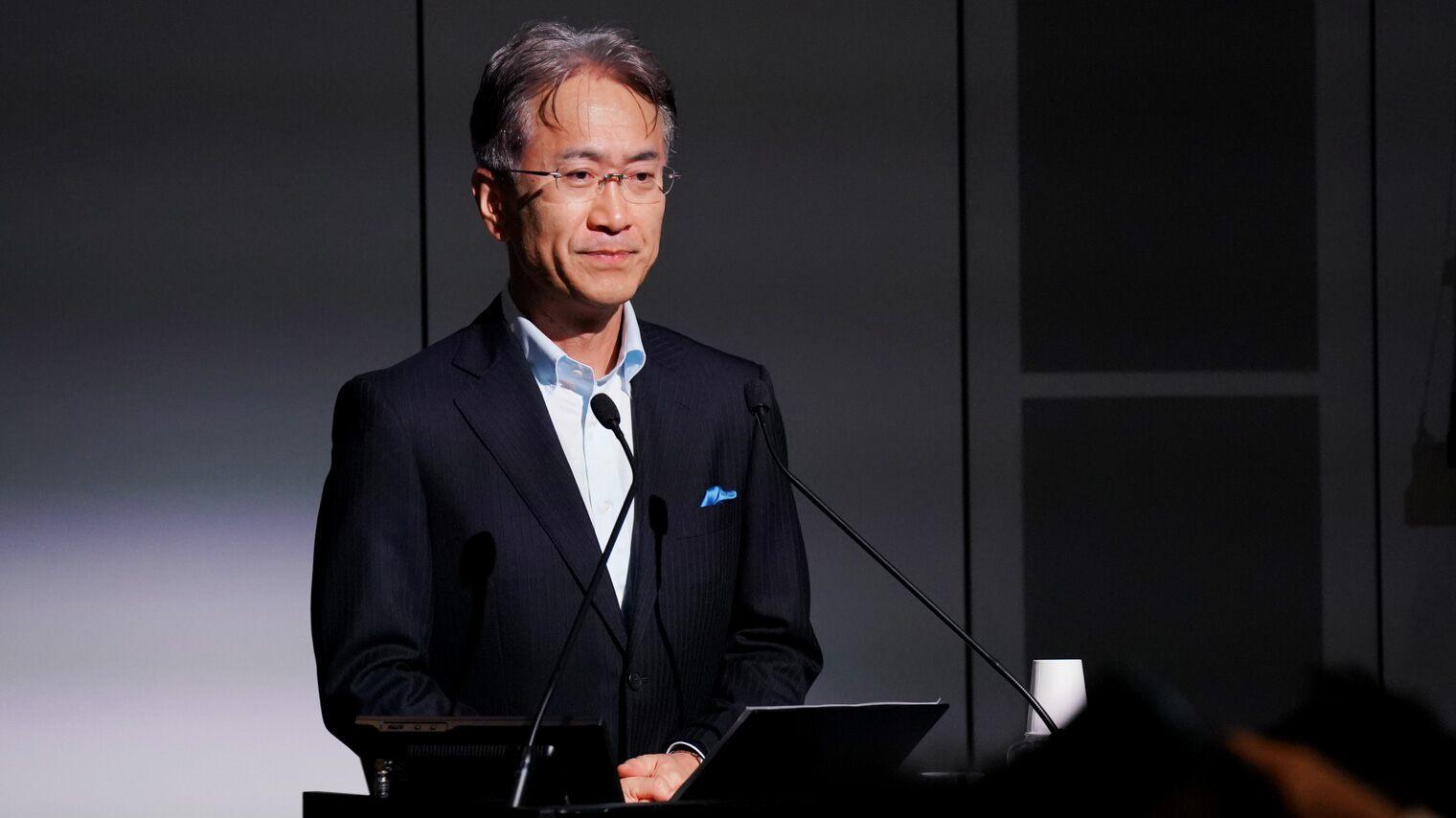Sony Corporation President & CEO Kenichiro Yoshida