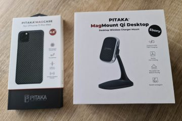 Pitaka Mag Case and Qi Desktop Mag Charger