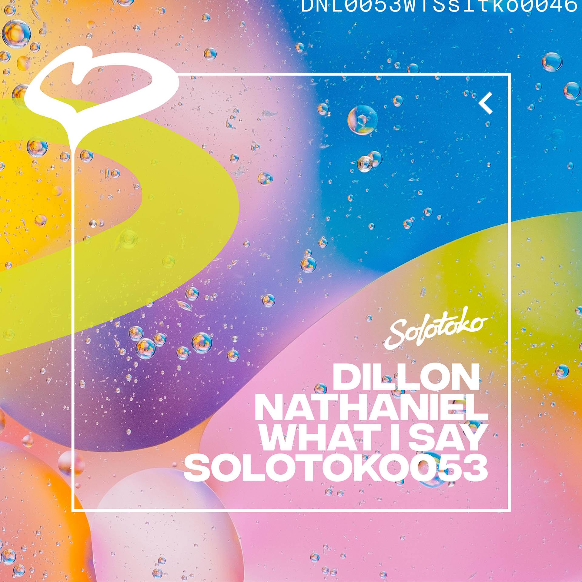 DILLON NATHANIEL What I Say EP