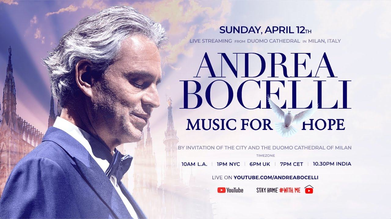 Andrea Bocelli - Music for Hope