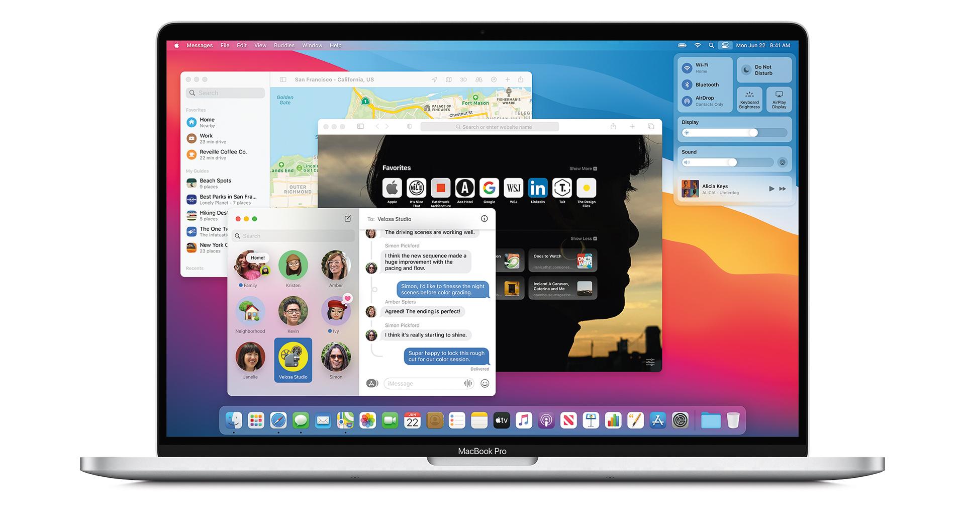 Apple Mac OSX Big Sur