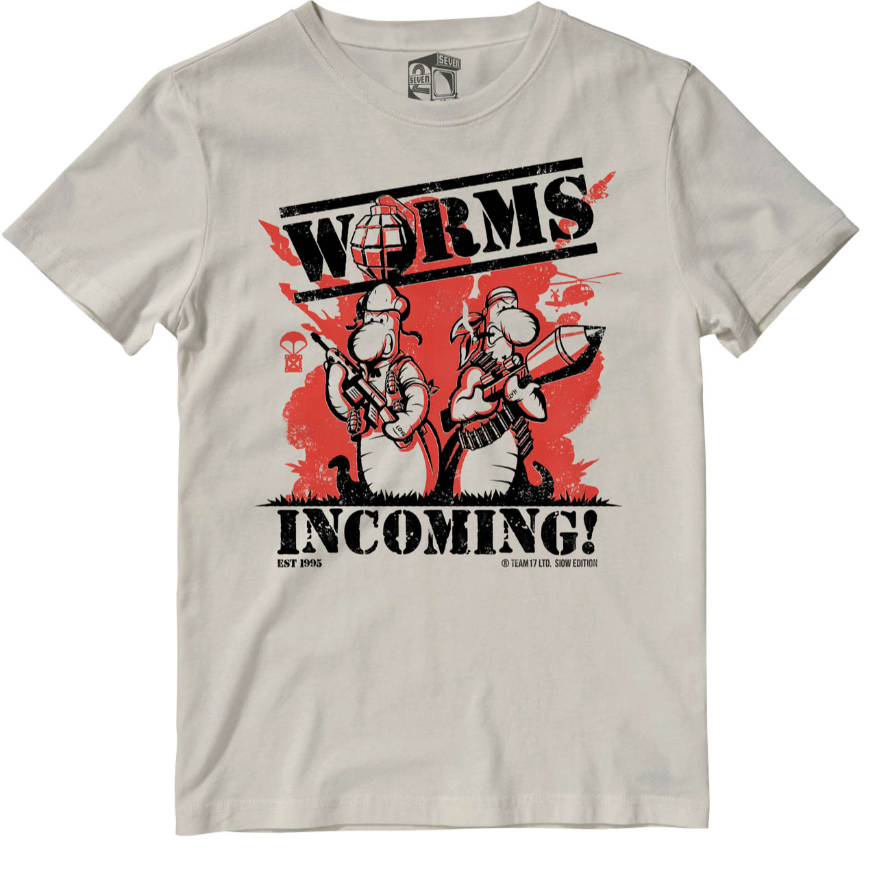 Worms - Incoming Limited Edition T Shirt