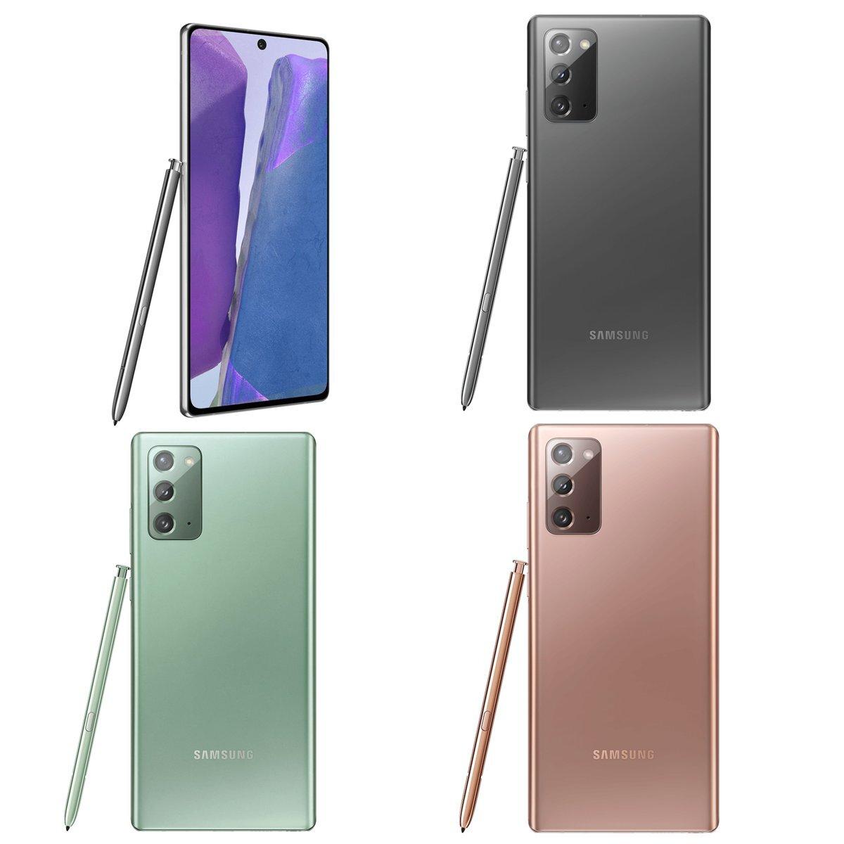 Galaxy Note20 range