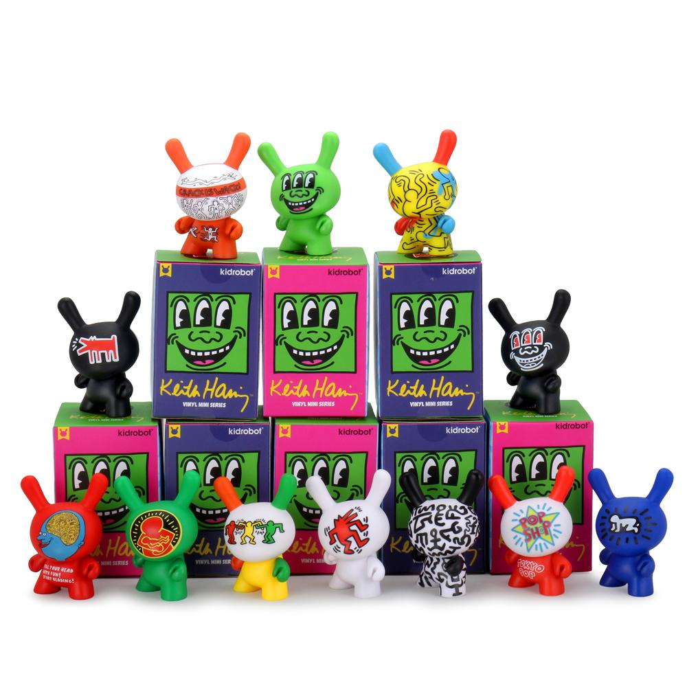 Kidrobot x Keith Haring Mini Figures