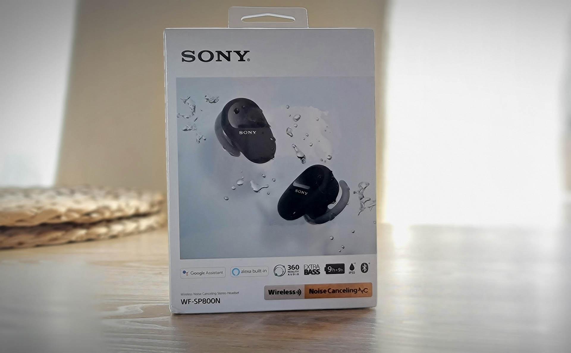 Sony WF-SP800N Wireless Buds