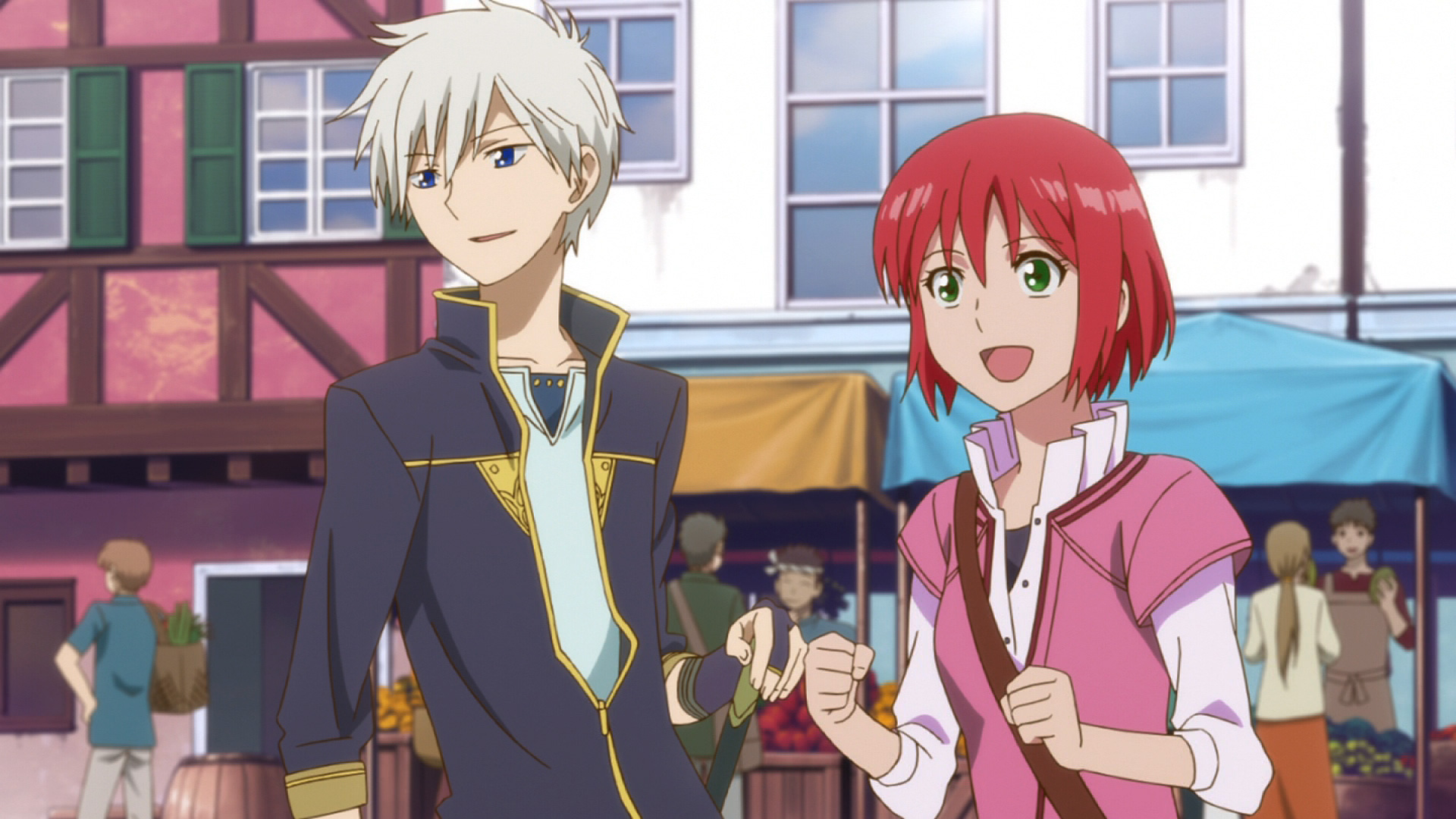 Snow White with the Red Hair - Anime Series