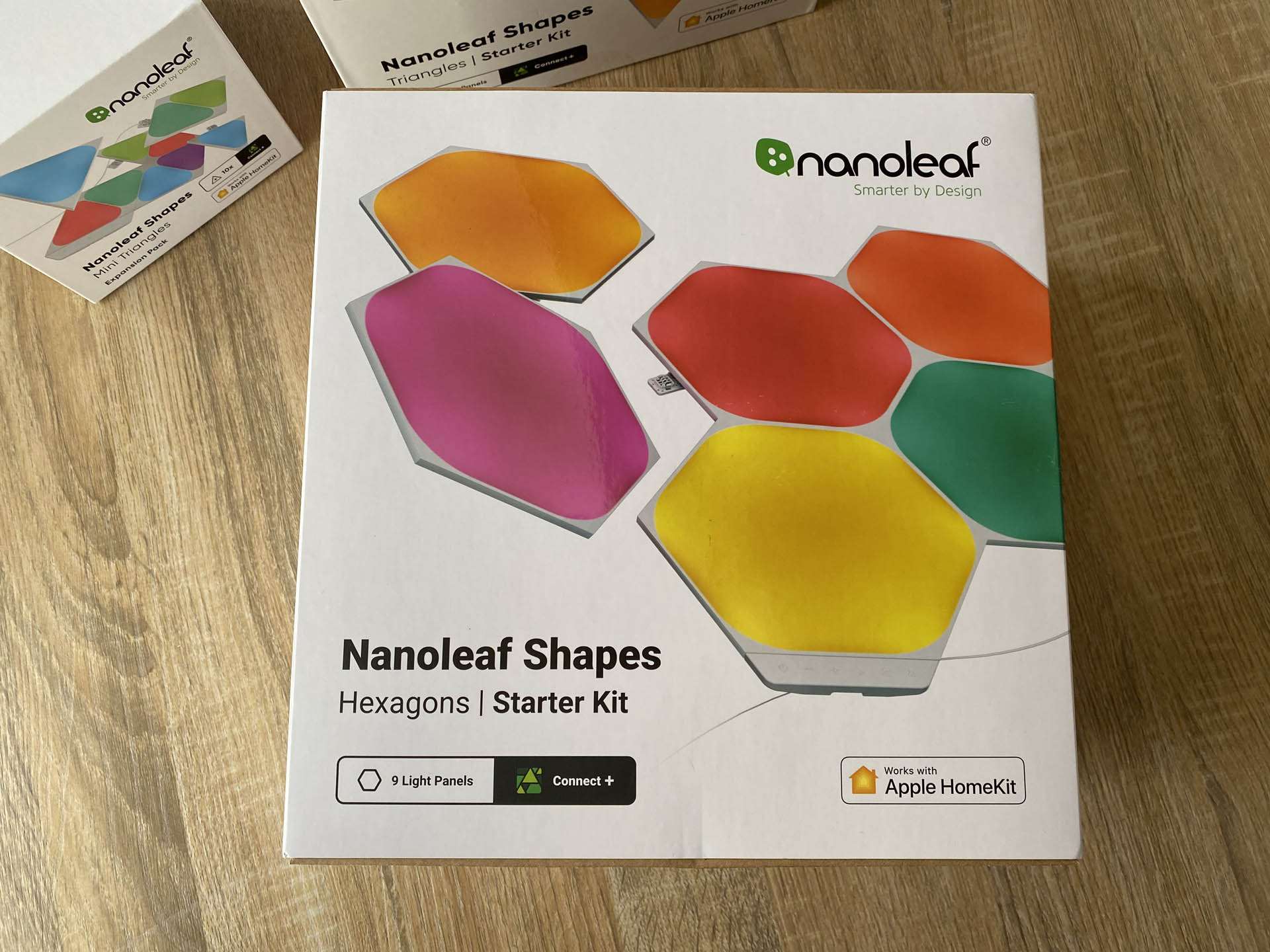 Nanoleaf Triangle and Hexagon Light Panels