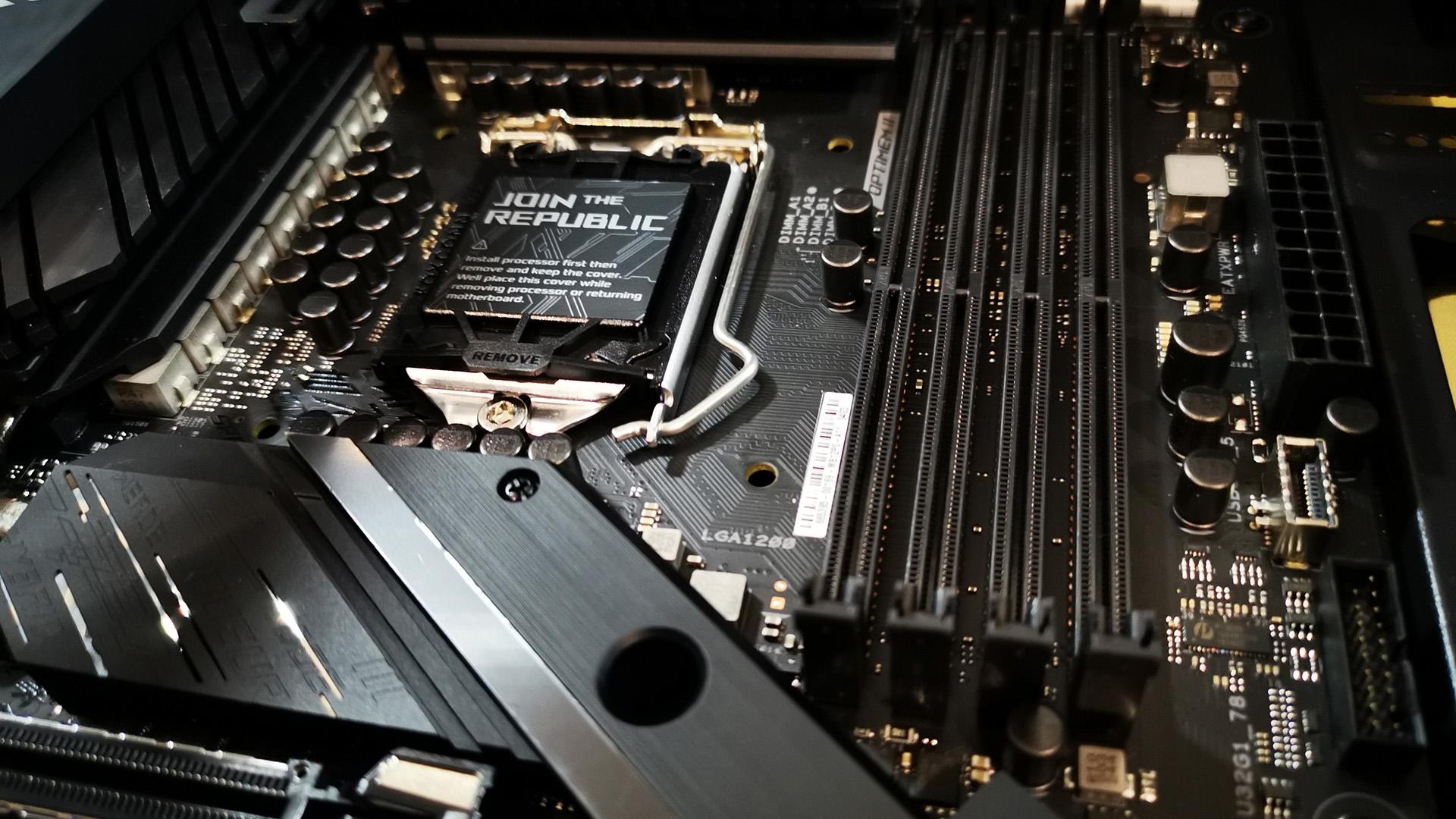 ASUS ROG Strix Z490-E Gaming motherboard