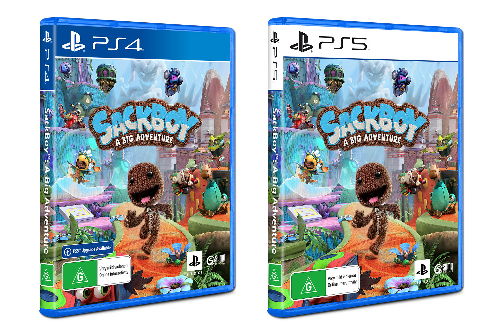 Sackboy - A Big Adventure PS4 and PS5