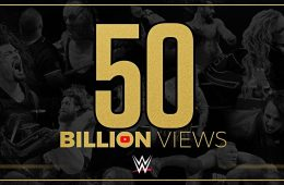 WWE 50B Views on YouTube Channel
