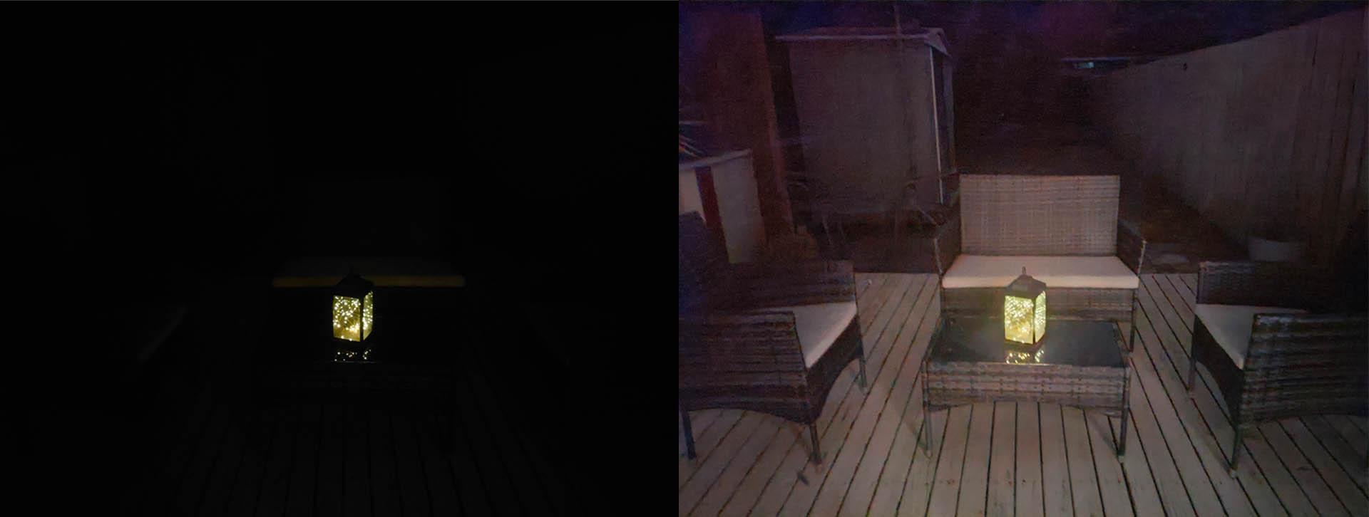 OPPO Find X3 Lite Night mode