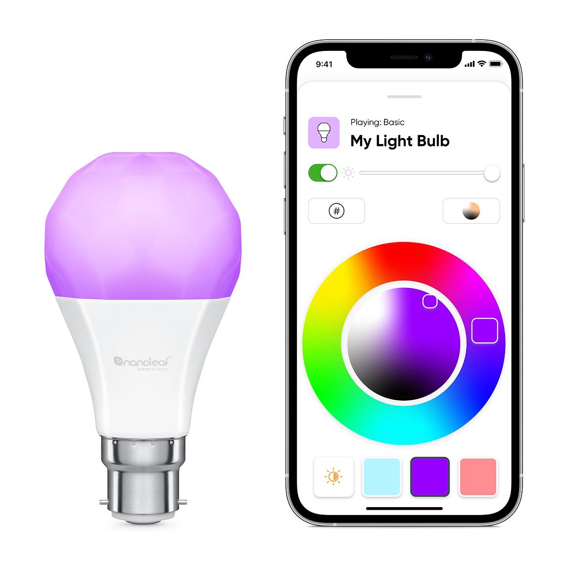 Nanoleaf Essentials LED Bulb and Lightstrip
