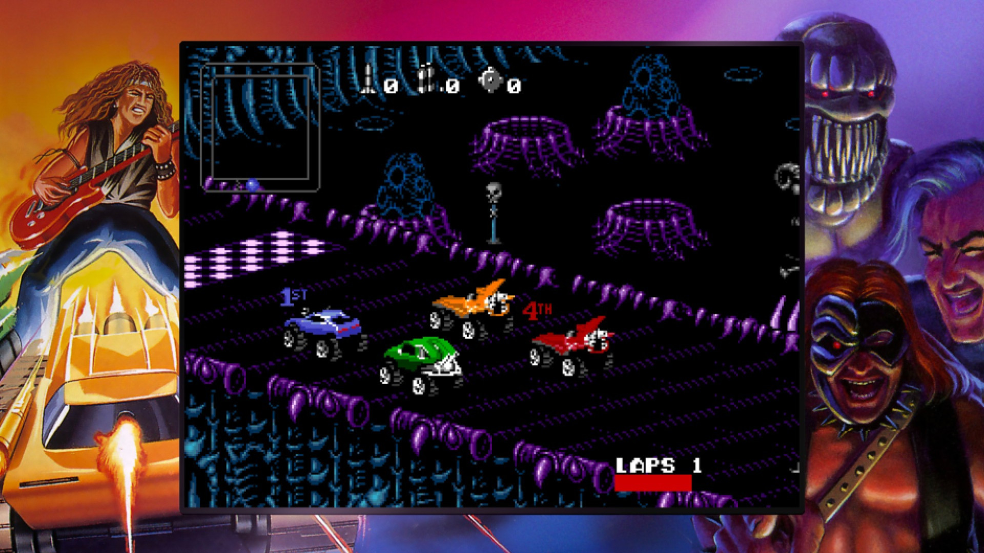 Blizzard Arcade Collection - Rock n Roll Racing