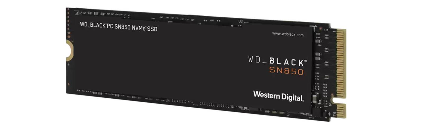 WD Black SN850 1TB NVMe PCIe SSD