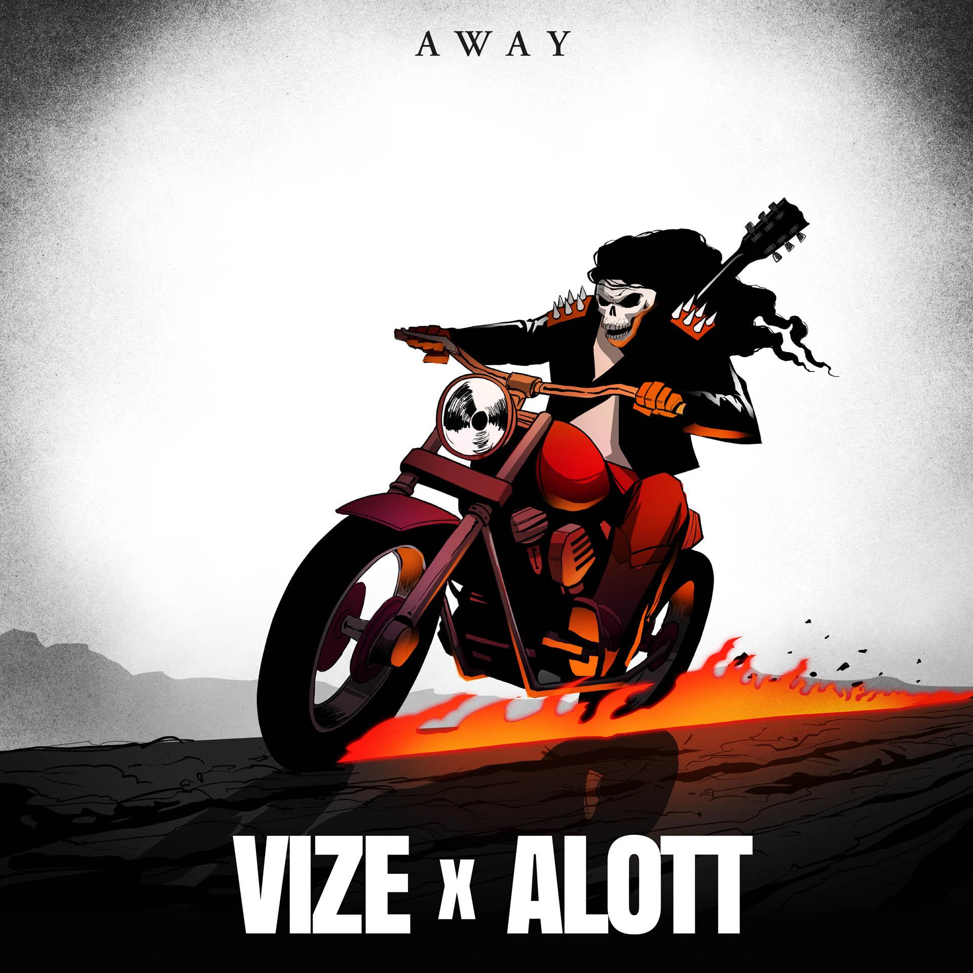 Vize x Alott - Away Single
