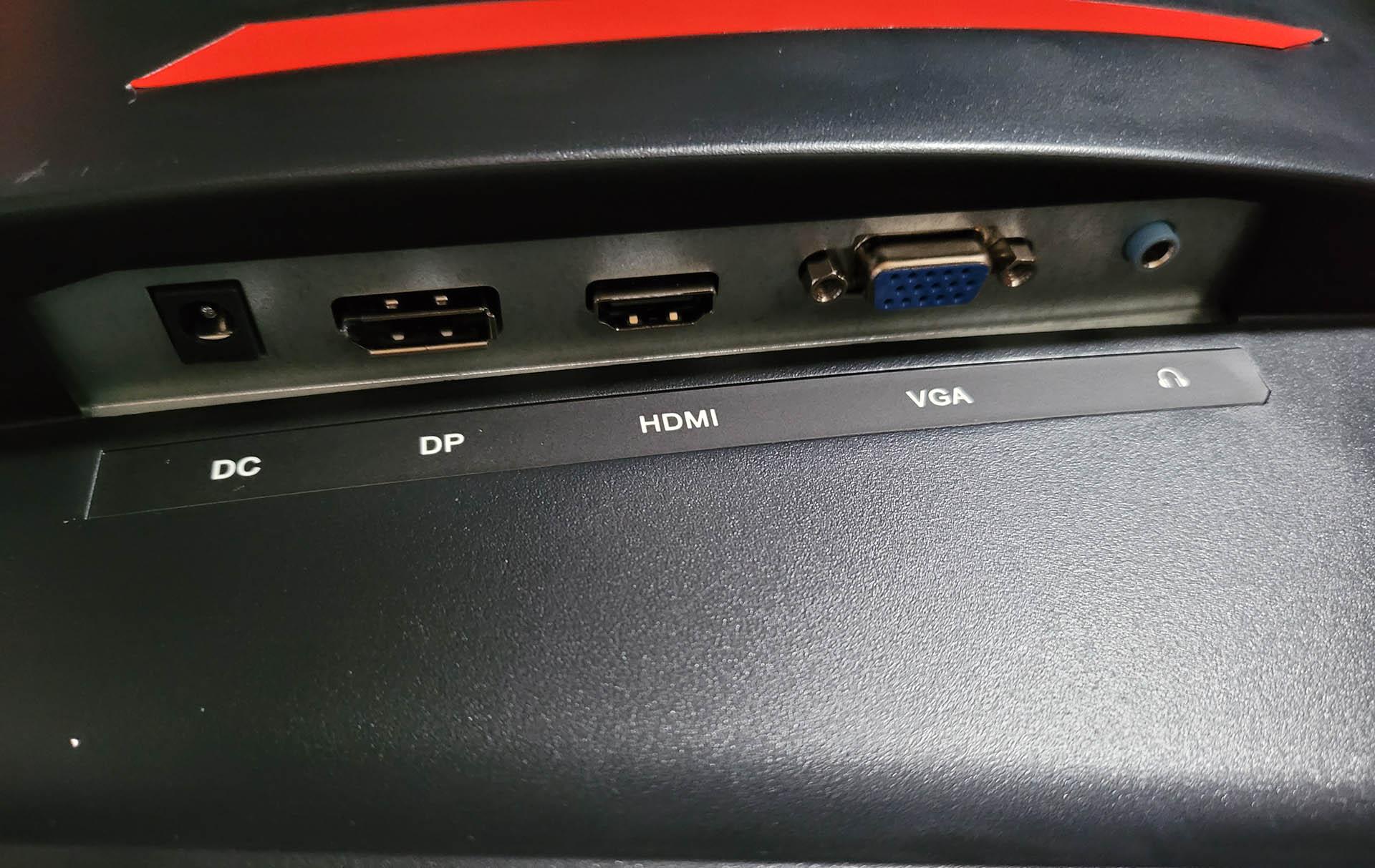 Konic 27'' Full HD Curved Gaming Monitor