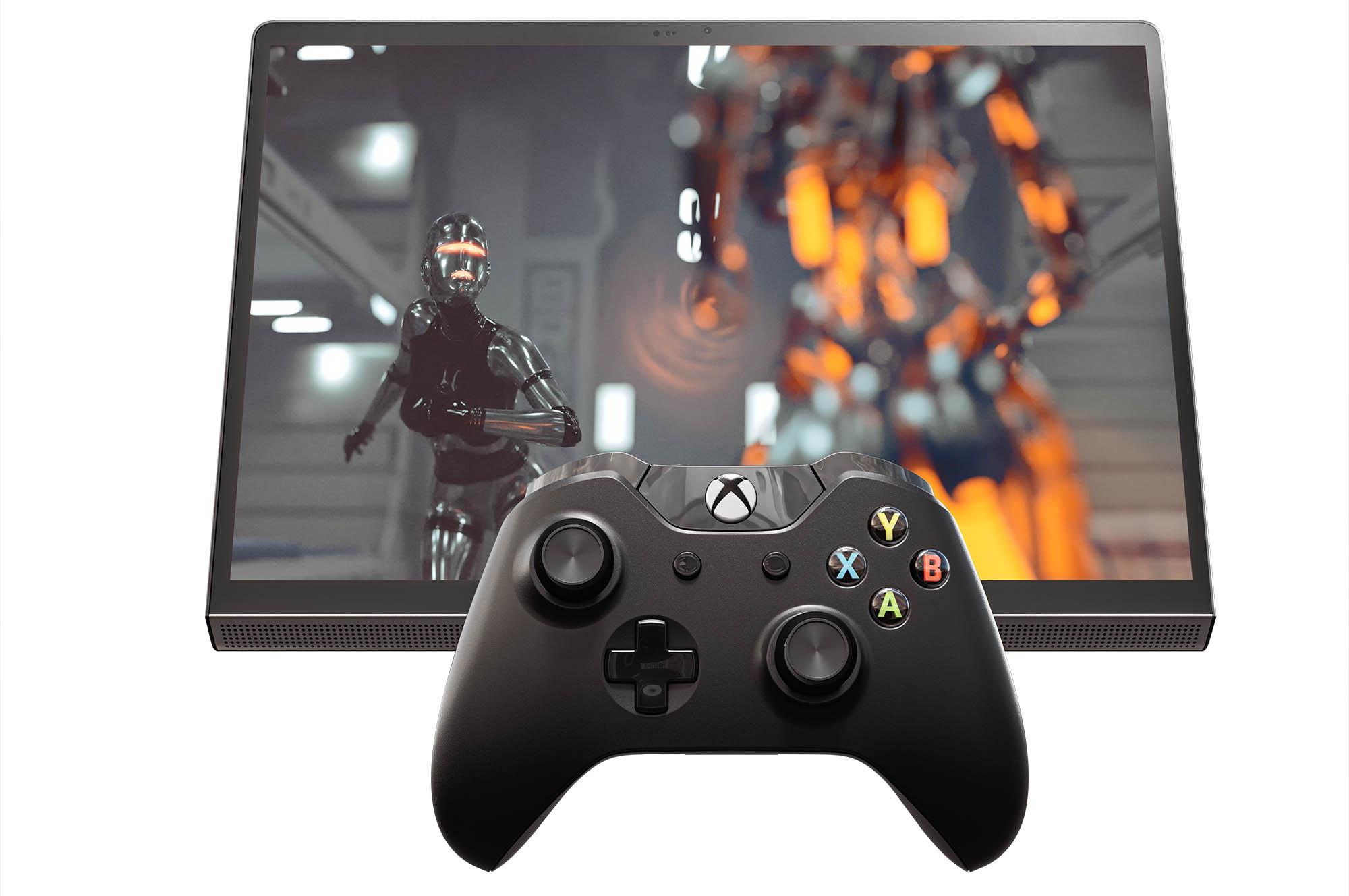 Lenovo Yoga Tab 13_Connectivity_Gaming Controller