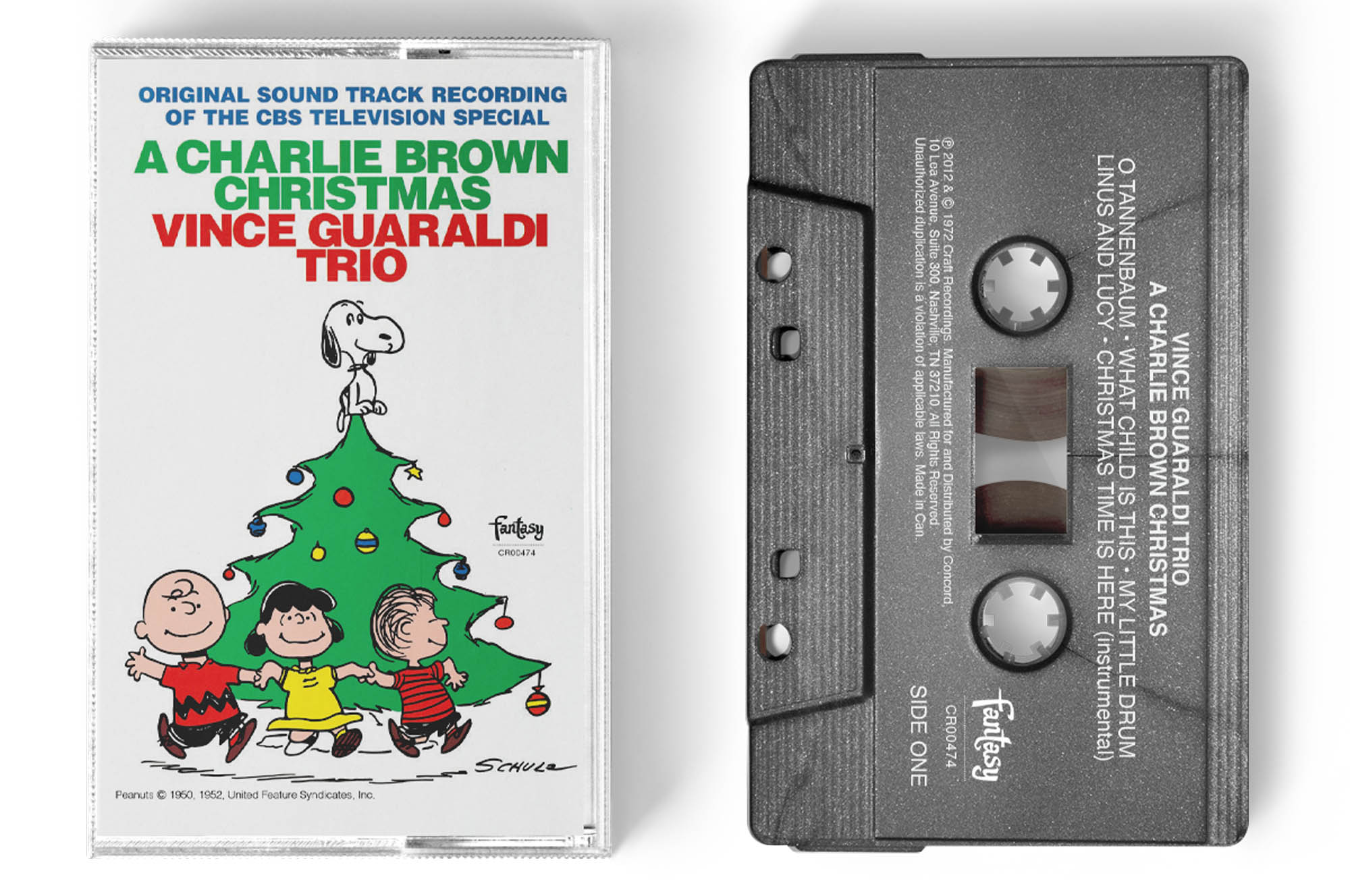 'A Charlie Brown Christmas' silver edition cassette