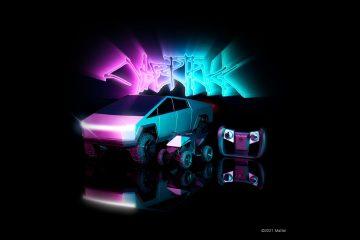 Hot Wheels Cybertruck