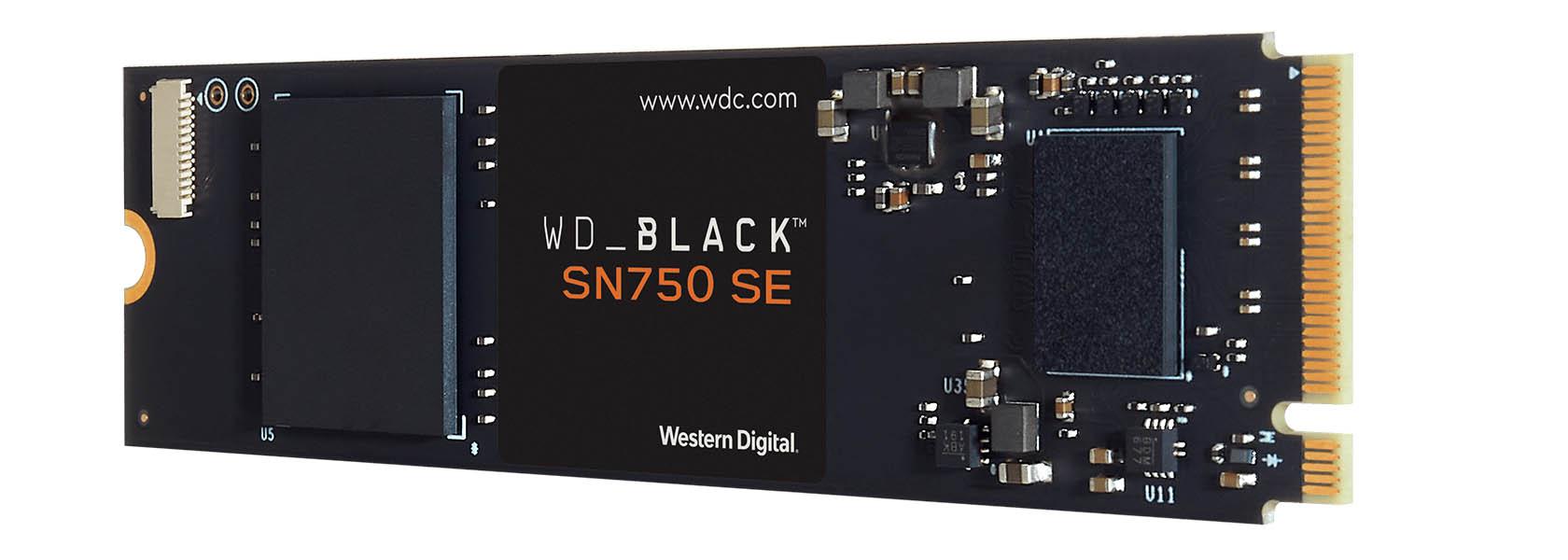 WD Black SN750 SE NVMe SSD