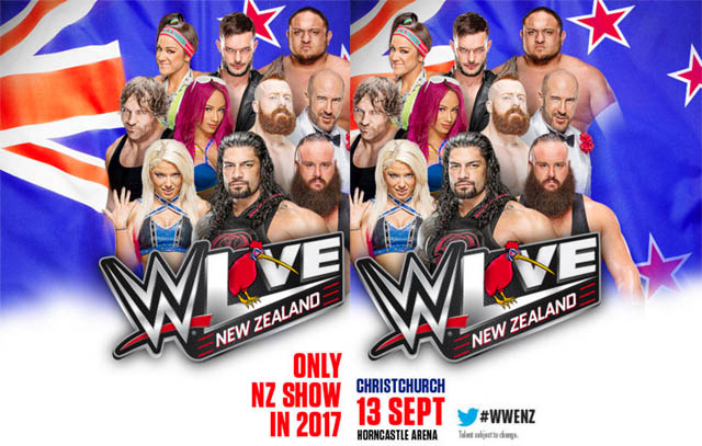 WWE NZ Live 2017