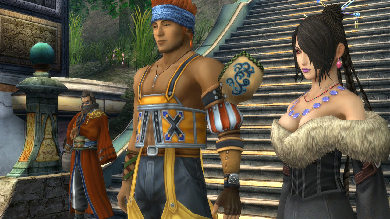 Final Fantasy X SD vs HD Comparison  YouTube