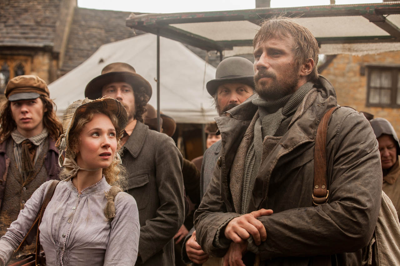 far from the madding crowd Far from the madding crowd is a 2015 british romantic drama film directed by thomas vinterberg and starring carey mulligan, matthias schoenaerts, michael sheen, tom sturridge and juno temple.