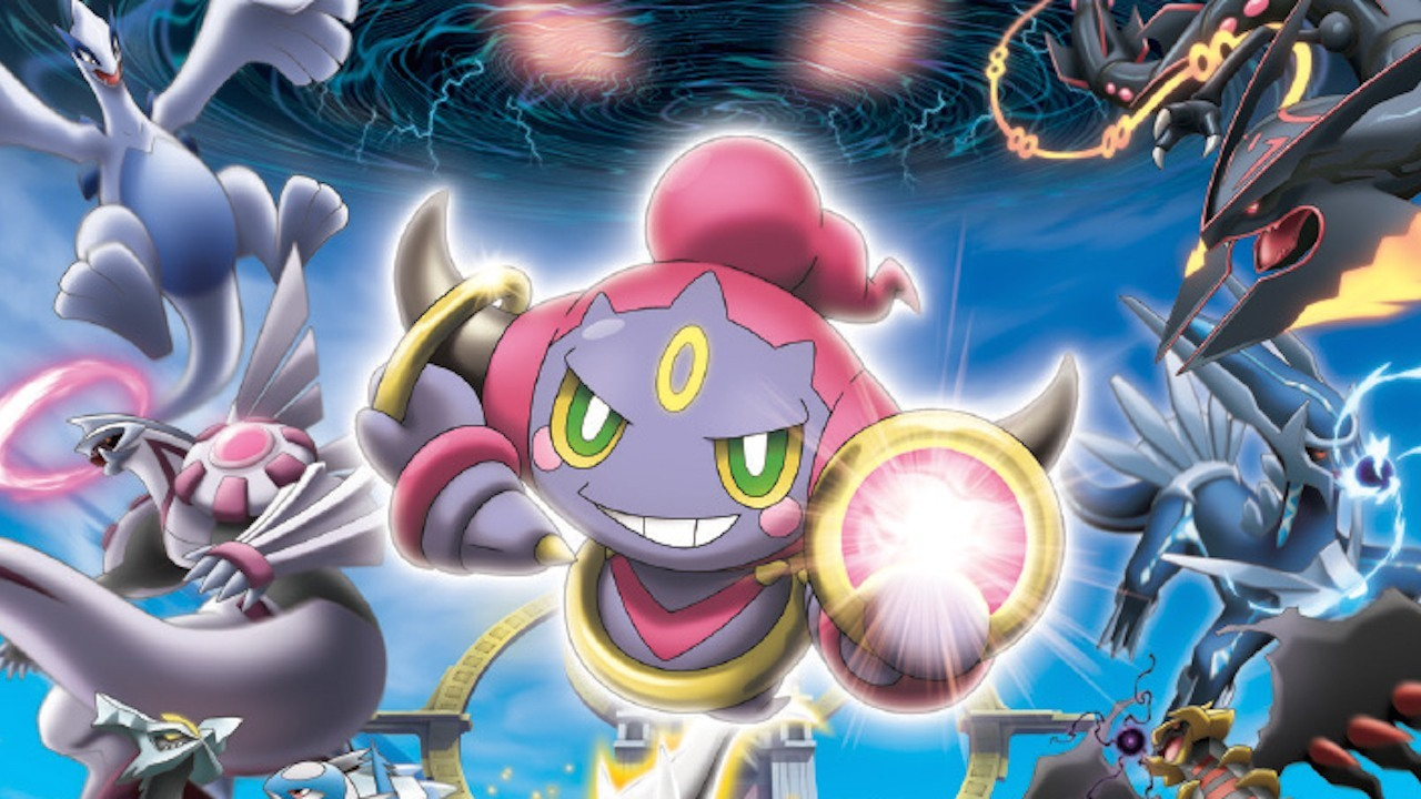 Pokemon Hoopa And The Clash Of Ages Movie 2015 Review Stg