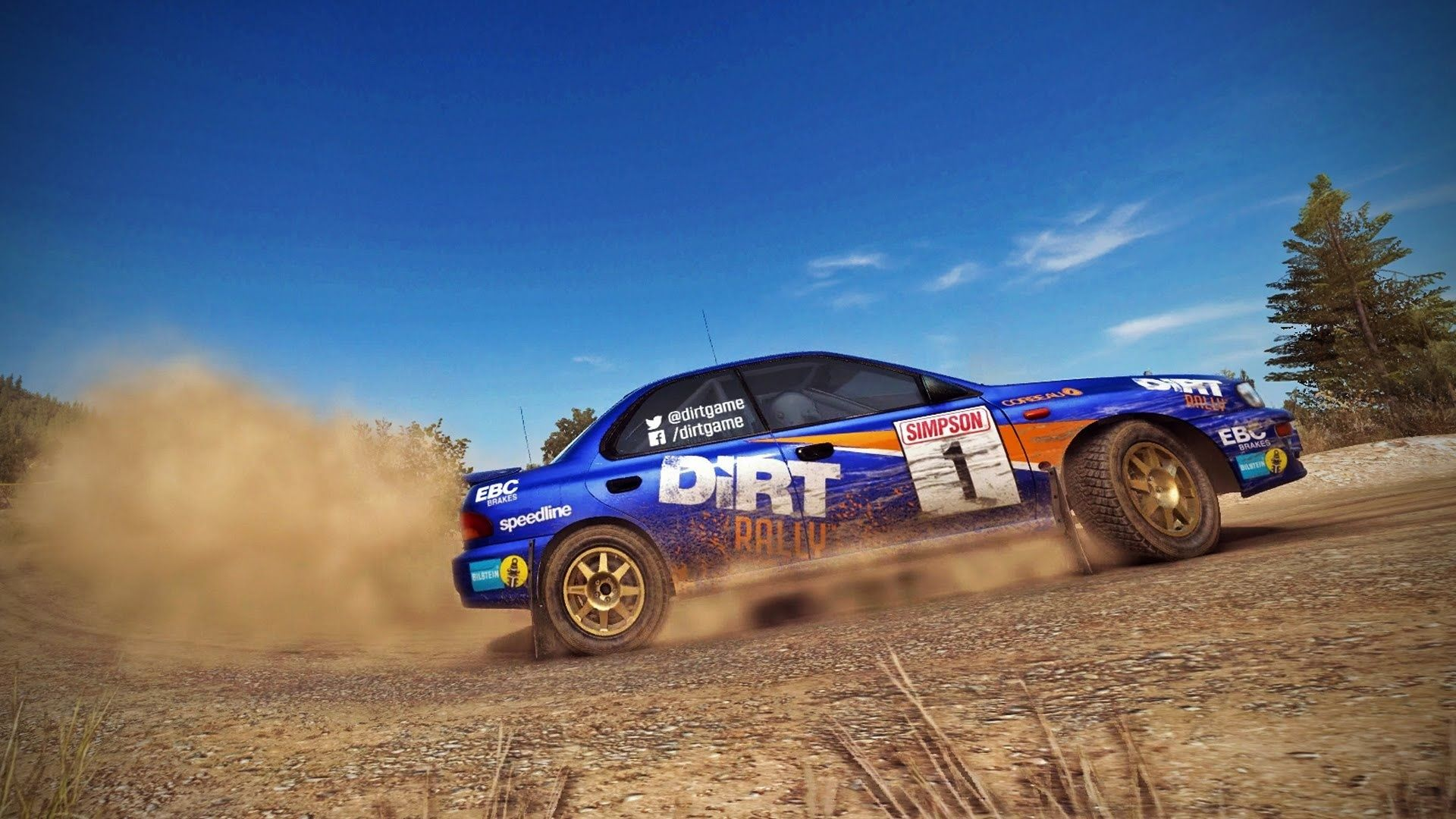 dirt rally goes vr stg. Black Bedroom Furniture Sets. Home Design Ideas