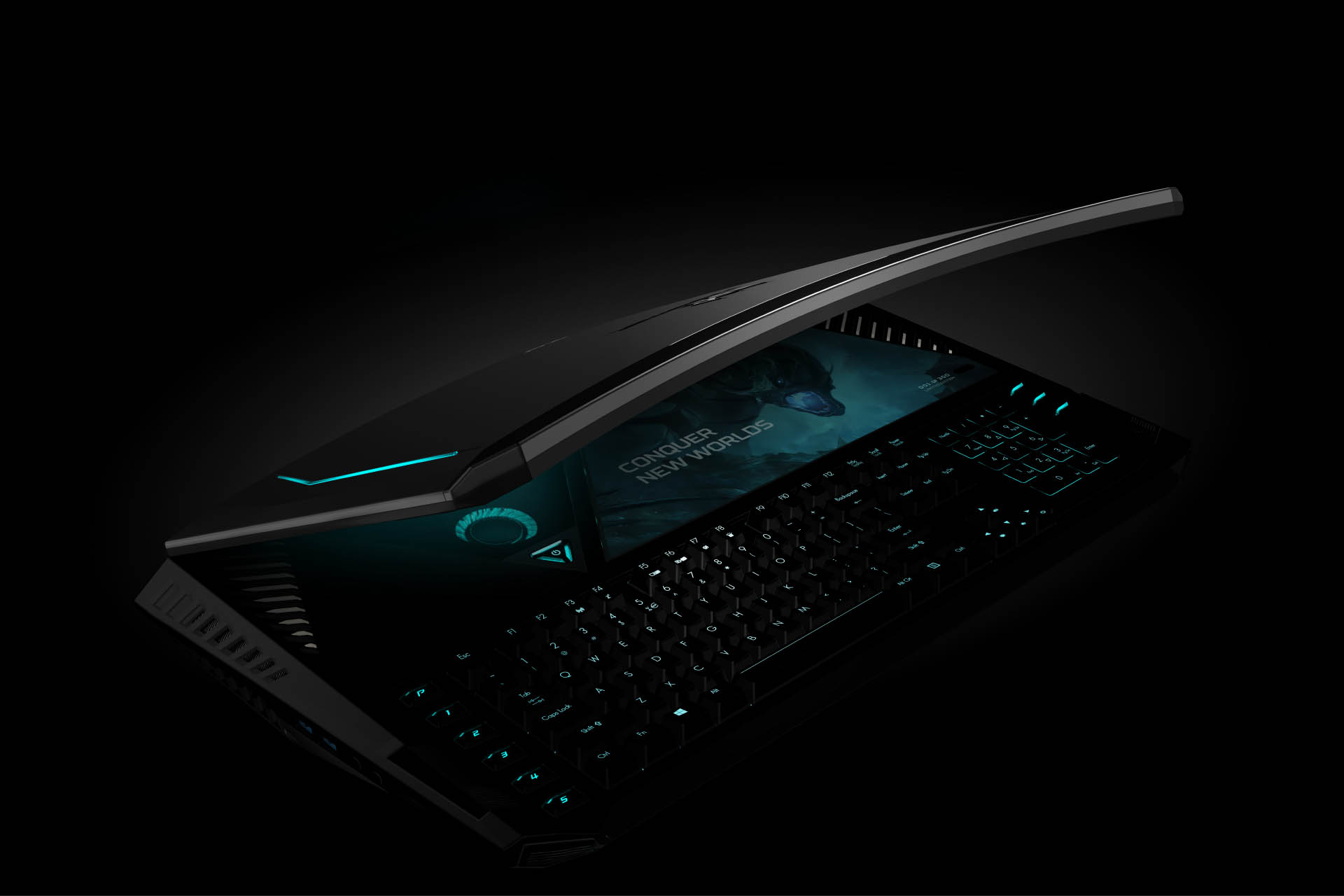 Acers Predator 21 X Gaming Laptop Worlds First Curved