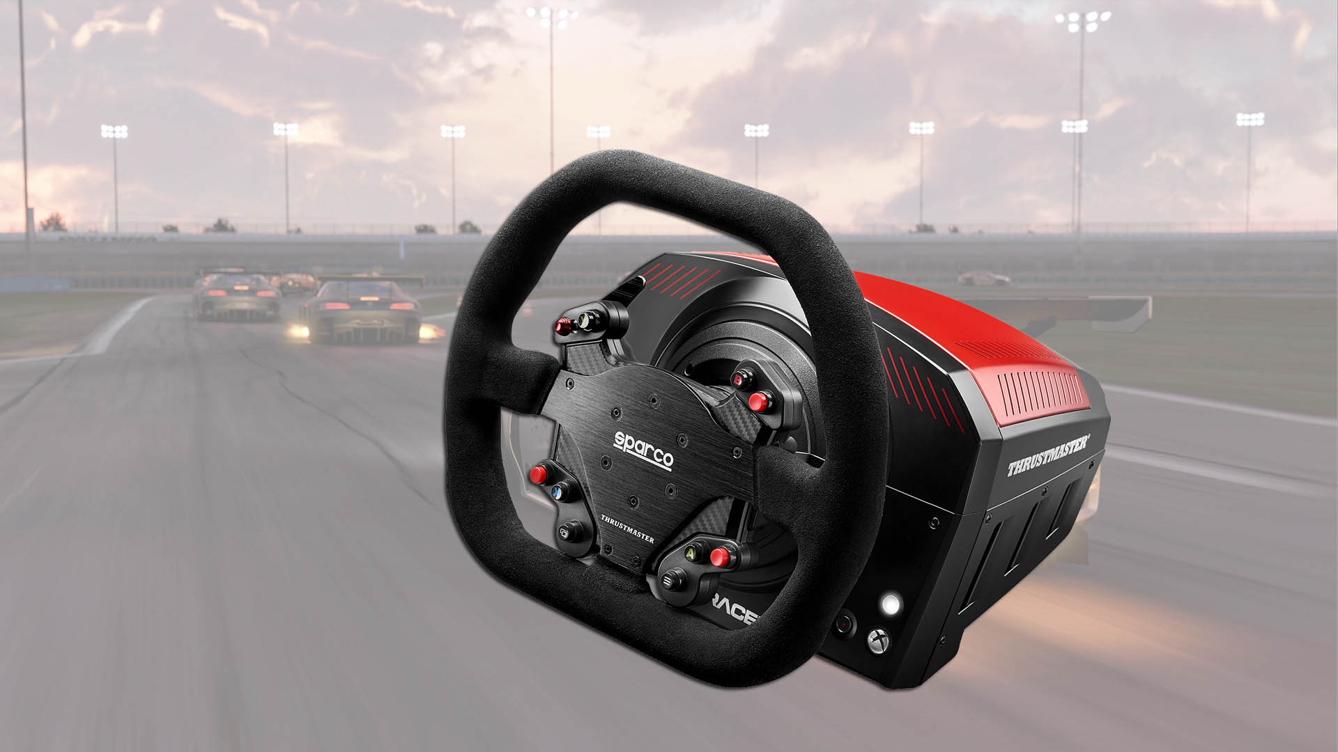 Thrustmaster Create The First Racing Wheel In Collaboration With Ts Xw Racer New Sparco Stg