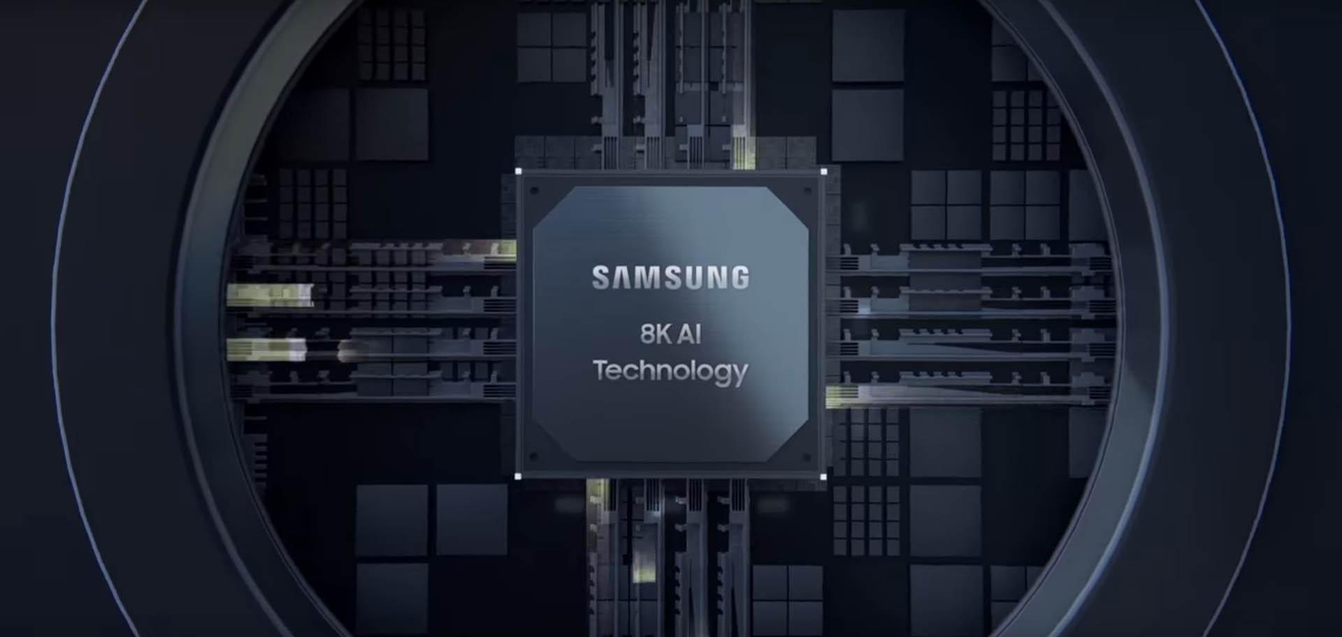 Znalezione obrazy dla zapytania Samsung AI 8k