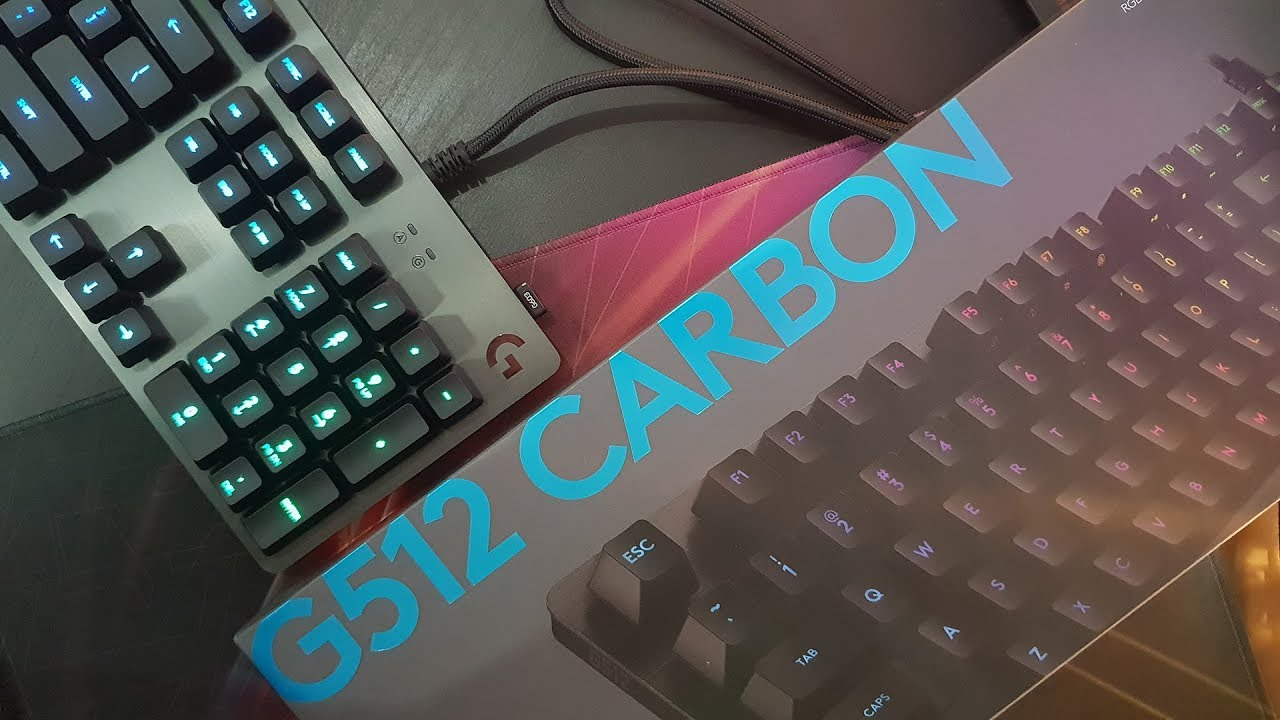 Logitech G512 Keyboard Review – STG