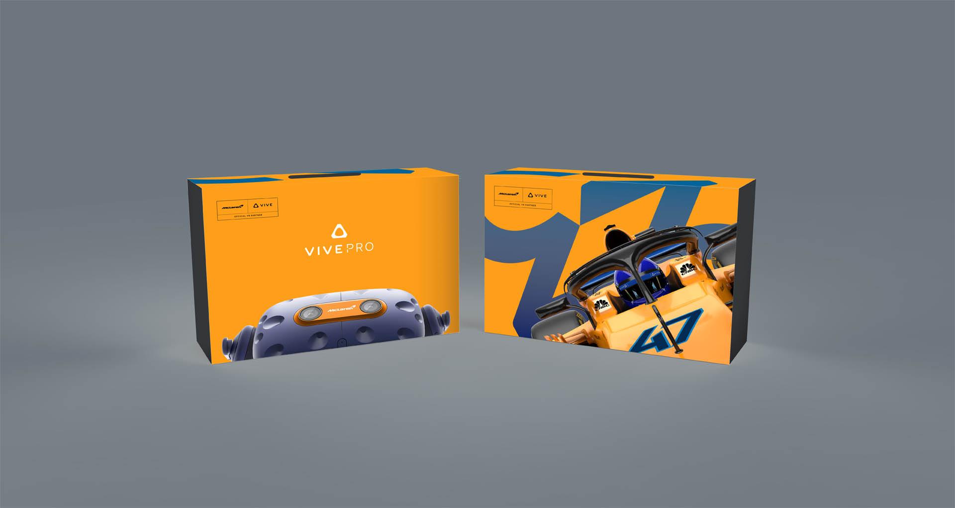 VIVE Pro MacLaren Limited Edition_HMD