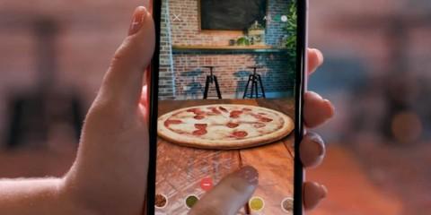 Dominoes AR Chef App