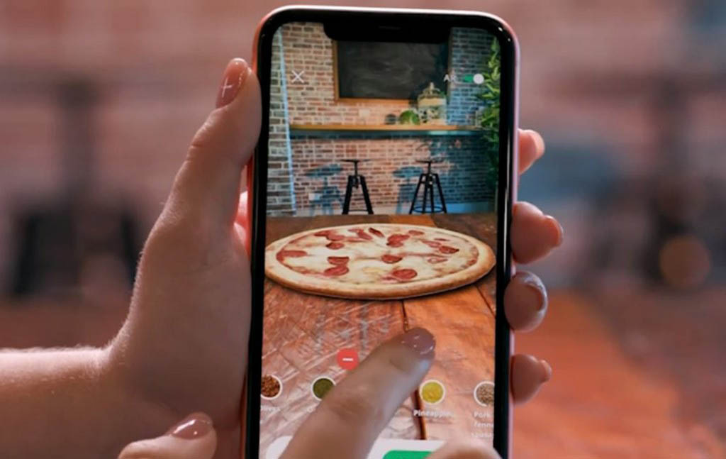 Dominoes AR Chef App